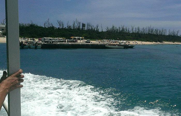 水納島高速艇
