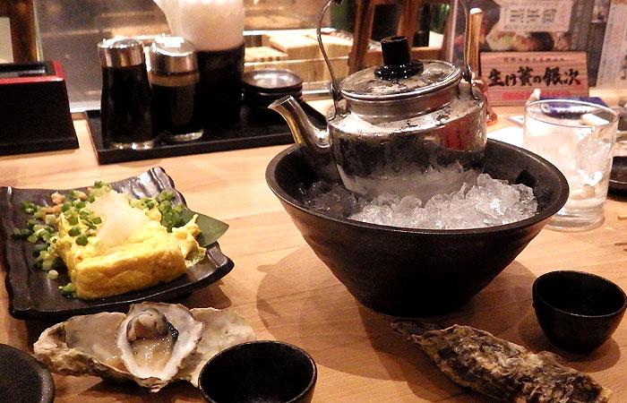 日本酒とだし巻き玉子
