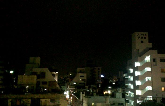 ゲストハウス 那覇グランド 屋上からの眺め