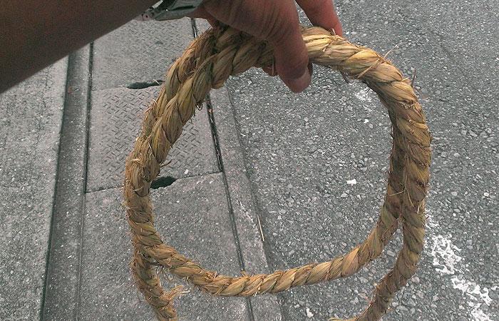 那覇大綱挽の綱