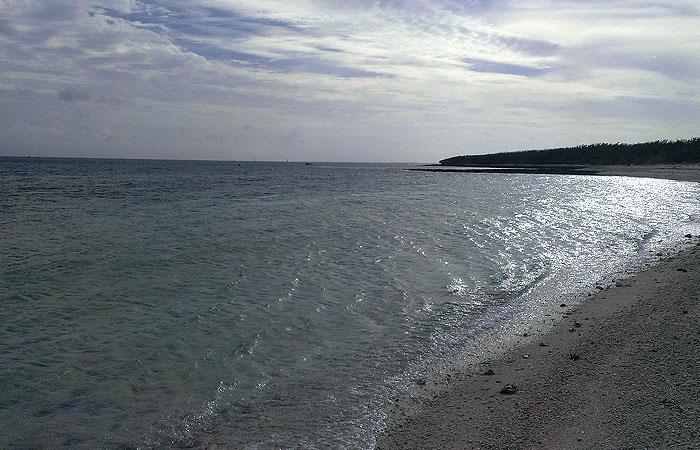 竹富島 アイヤル浜からの景色