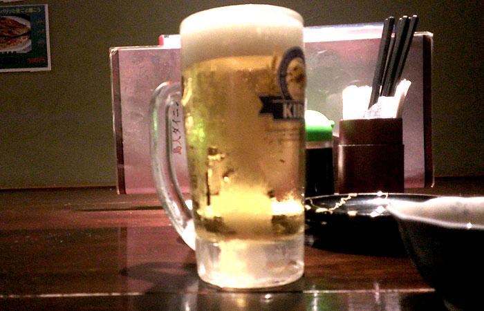 TARAJI100円ビール
