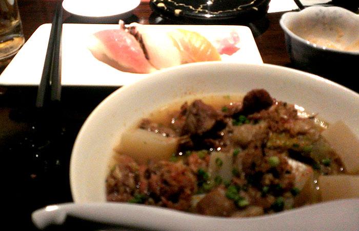 TARAJI スジコンと寿司