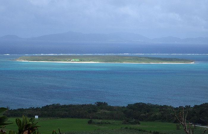 小浜島 大岳からの景色 竹富島