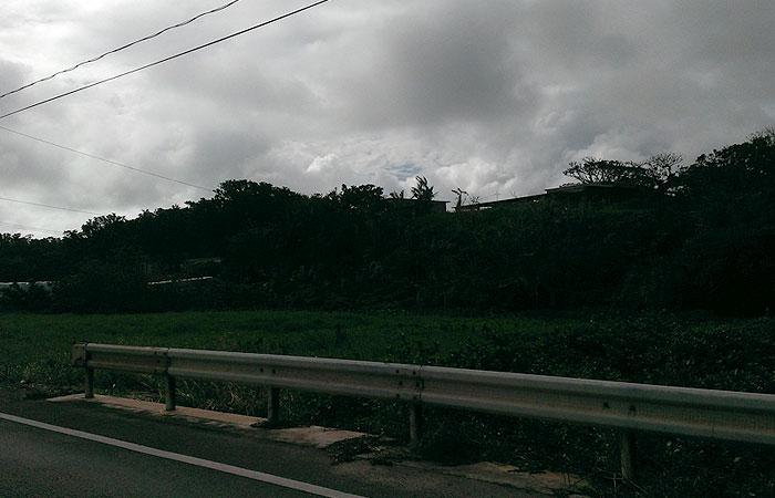 大岳への道