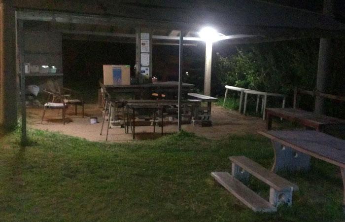 夜のココスビレッジ
