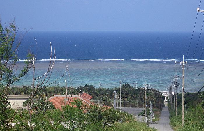 石垣島 山から見る海