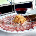 マリウド海人ツアーの昼食