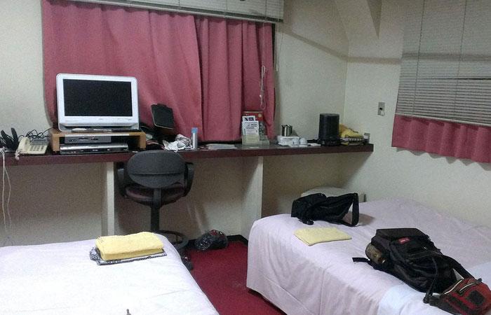ビジネスホテルマルヤマ 室内