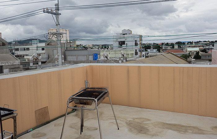 石垣島ゲストハウス えみっくす 屋上