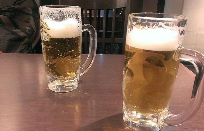 大晦日 とりあえずビール