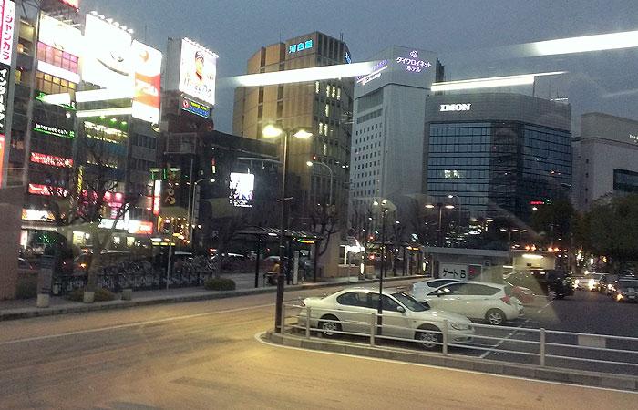 高速バスで名古屋から東京へ