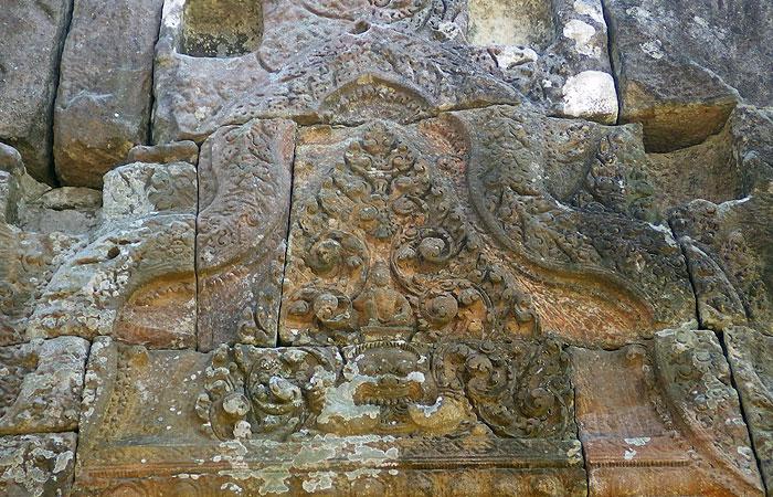 プレアビヒア 彫刻