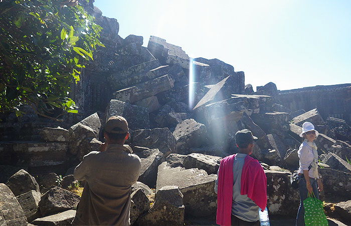 プレアビヒア 遺跡