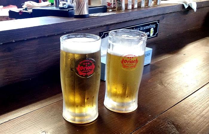 阿波連海の家 オリオンビール