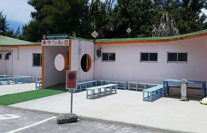 阿波連ビーチ トイレ
