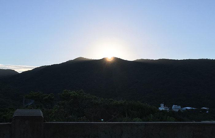 渡嘉敷の朝日