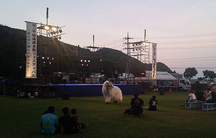 とかしきまつり 獅子舞