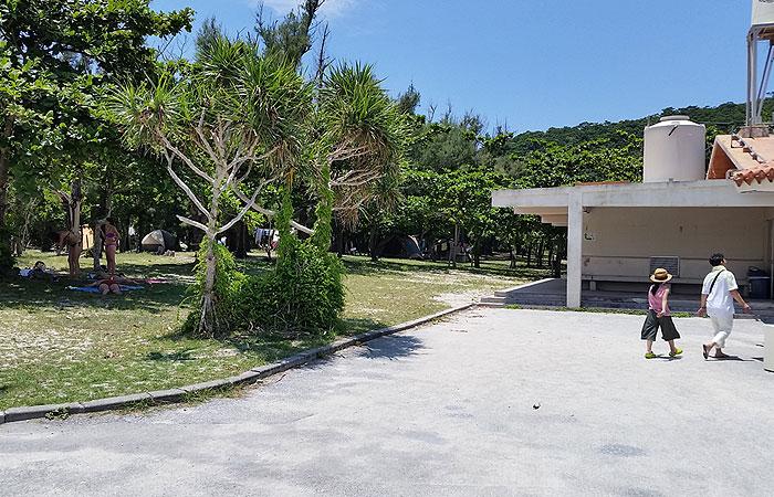 阿真ビーチキャンプ場