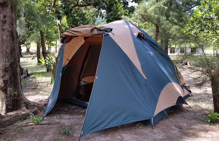 座間味 キャンプ