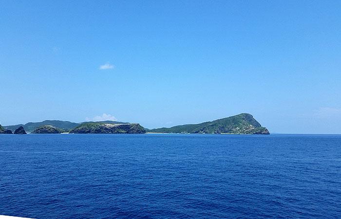 慶良間の島々