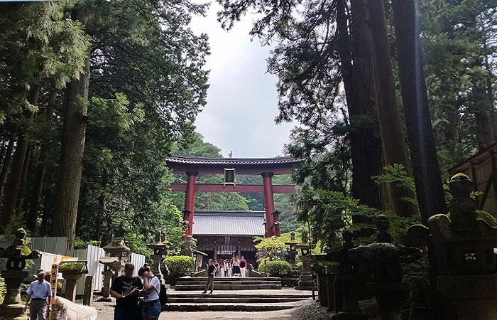 北口本宮冨士浅間神社 参道