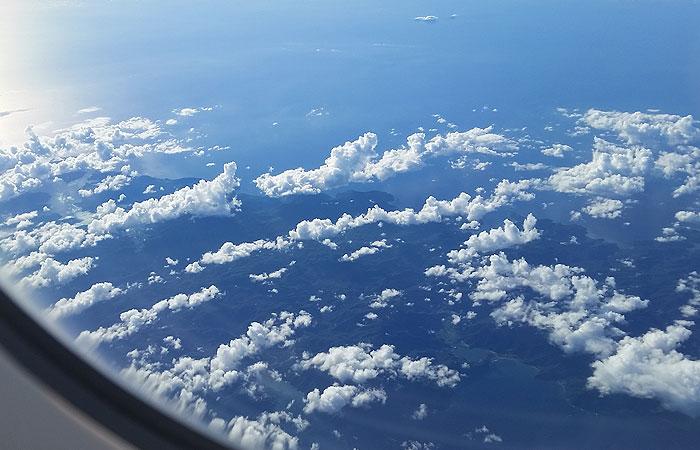 沖縄へのフライト