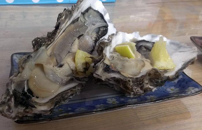 伊勢 焼き牡蠣