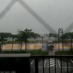 台風 ビーチサイドコンドミニアム