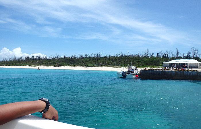 水納島ボートシュノーケル