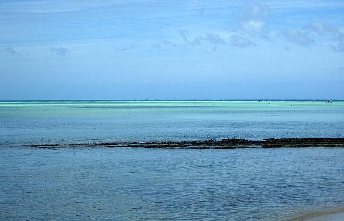 竹富島 光り輝く海