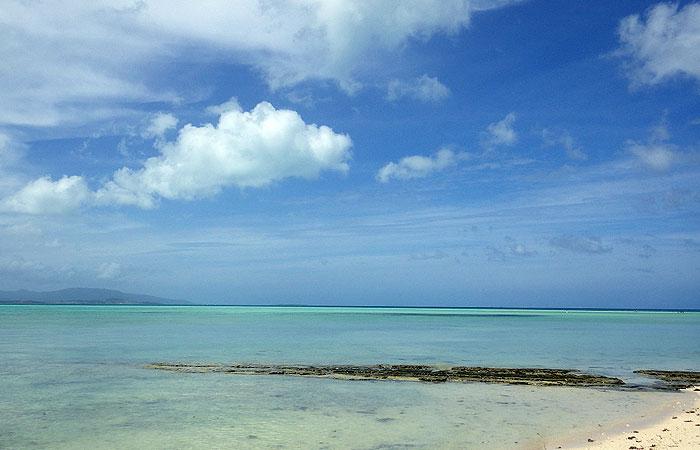 カイジ浜の景色