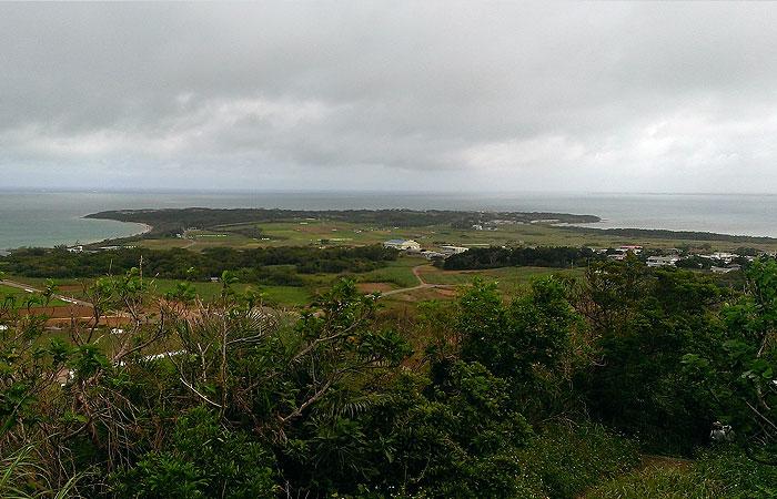 小浜島 大岳からの景色