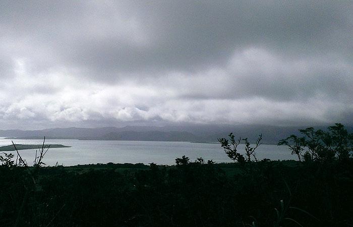 小浜島 大岳からの景色 西表島