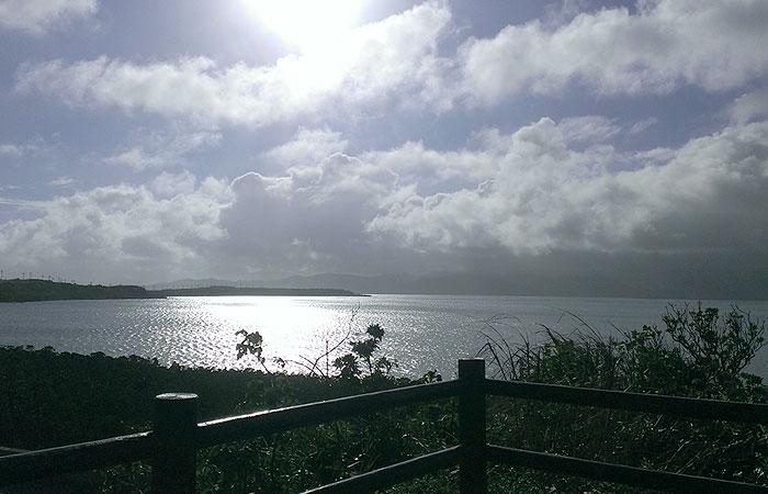 石長田海岸からの眺め