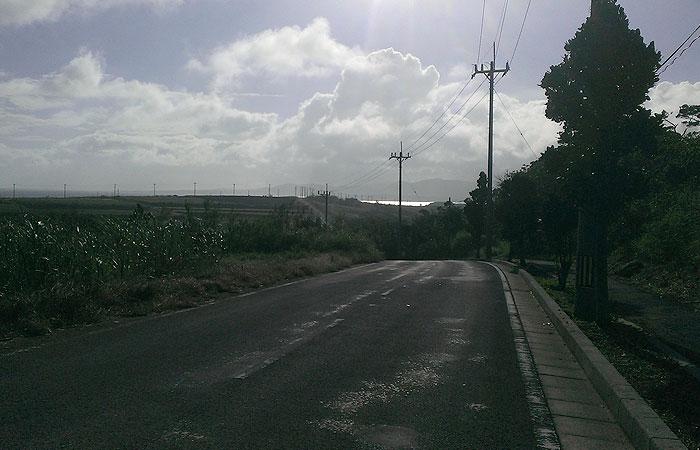 細崎までの道