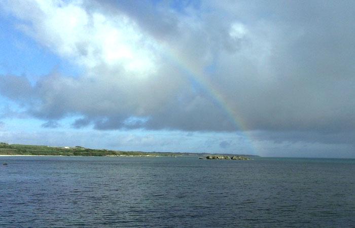 細崎海人公園の虹