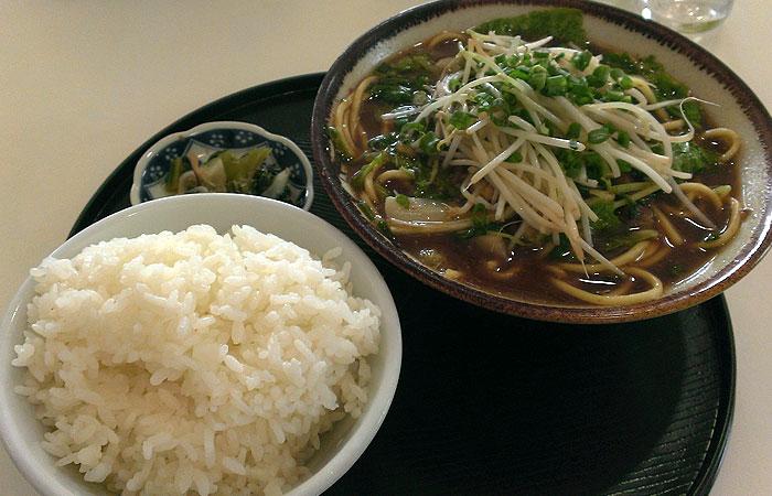 沖縄 味噌ソバ