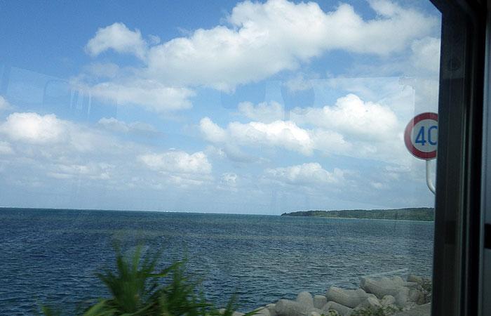 西表島 バスからの景色