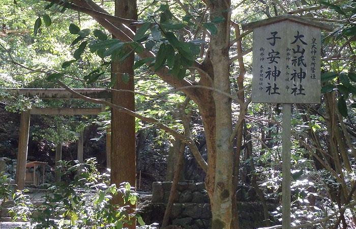 大山祇神社と子安神社