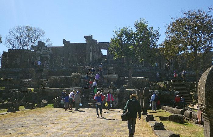 プレアビヒア 楼門