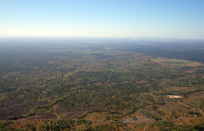 プレアビヒア 地平線を見渡す