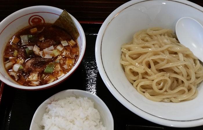 辛海老つけ麺
