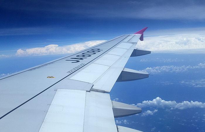 ピーチ飛行機