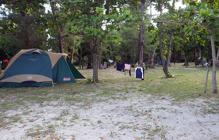 阿真キャンプ場