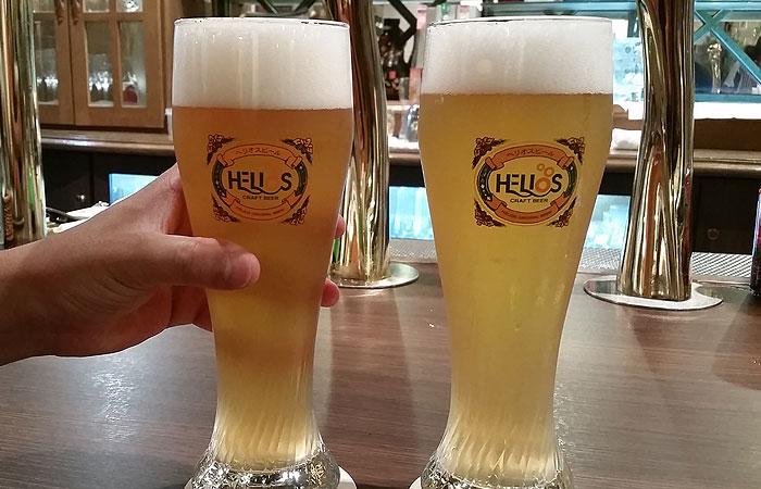 ヘリオスパブ ビール