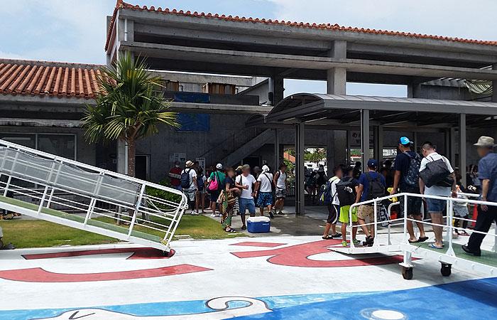 阿嘉港 旅客ターミナル