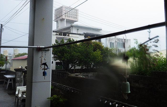雨の阿嘉島