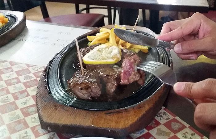 ステーキ ビッグハート