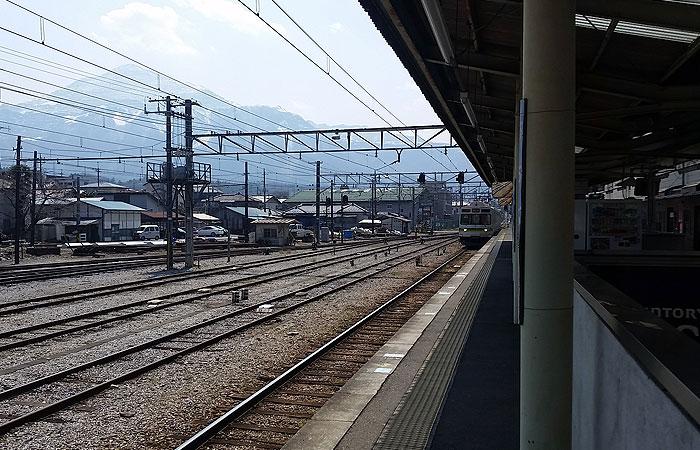 秩父駅 ホーム